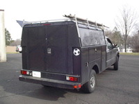Ford Utility Body Black DCU