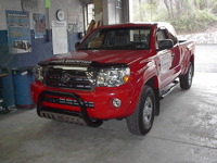Toyota Tacoma with Accessories
