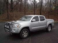 Toyota Tacoma LSII with Grille Guard